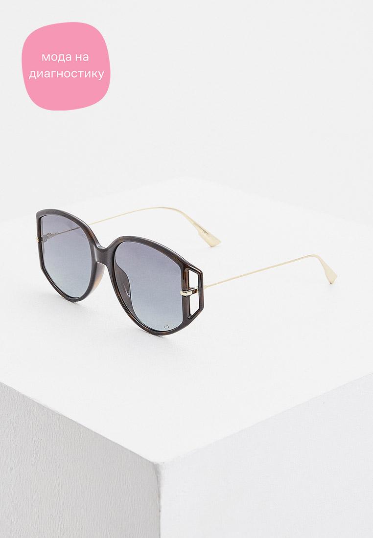 Женские солнцезащитные очки Christian Dior (Кристиан Диор) DIORDIRECTION2: изображение 2