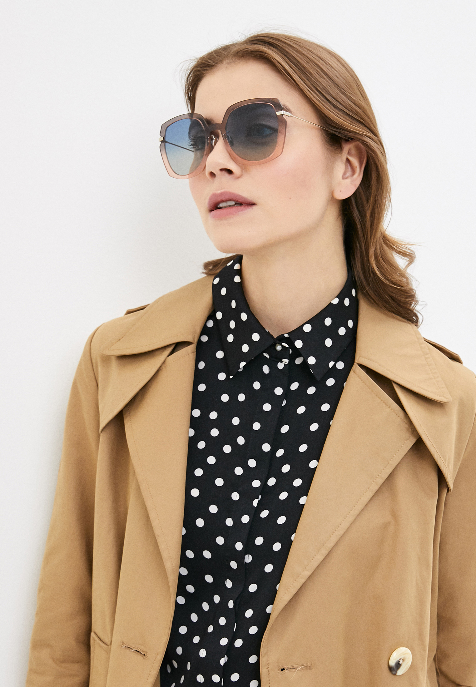 Женские солнцезащитные очки Christian Dior (Кристиан Диор) DIORATTITUDE1: изображение 8