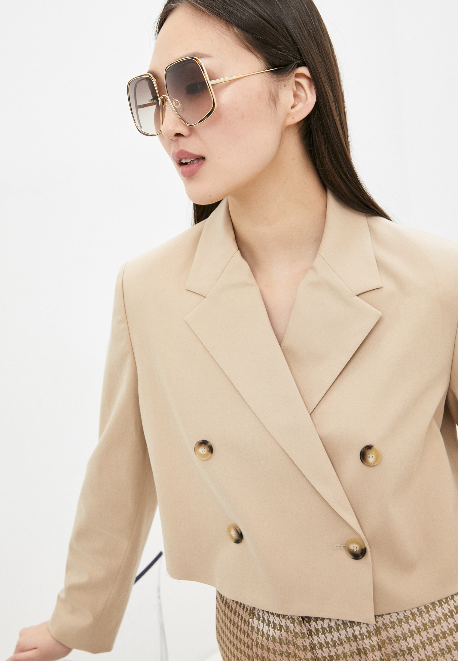 Женские солнцезащитные очки Chloe CH0035S: изображение 6