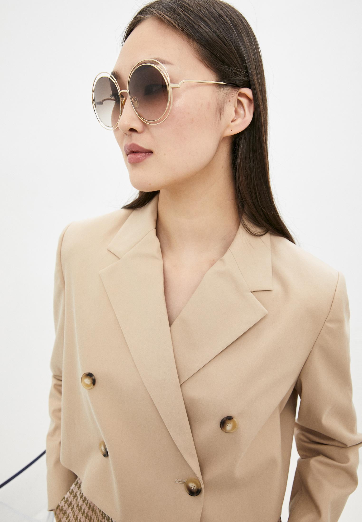 Женские солнцезащитные очки Chloe CH0045S: изображение 6