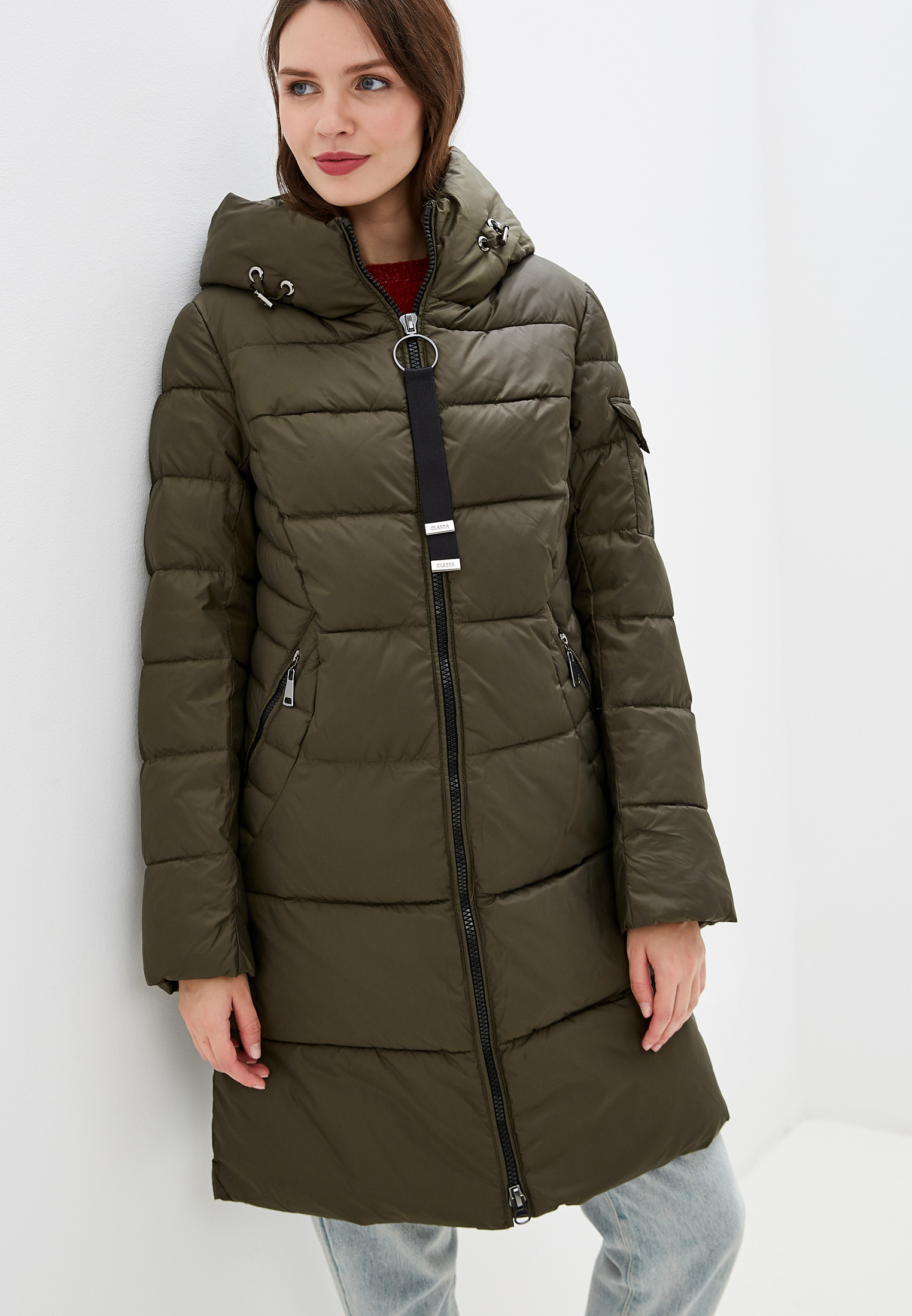 Утепленная куртка Clasna CW19D-507CW: изображение 1