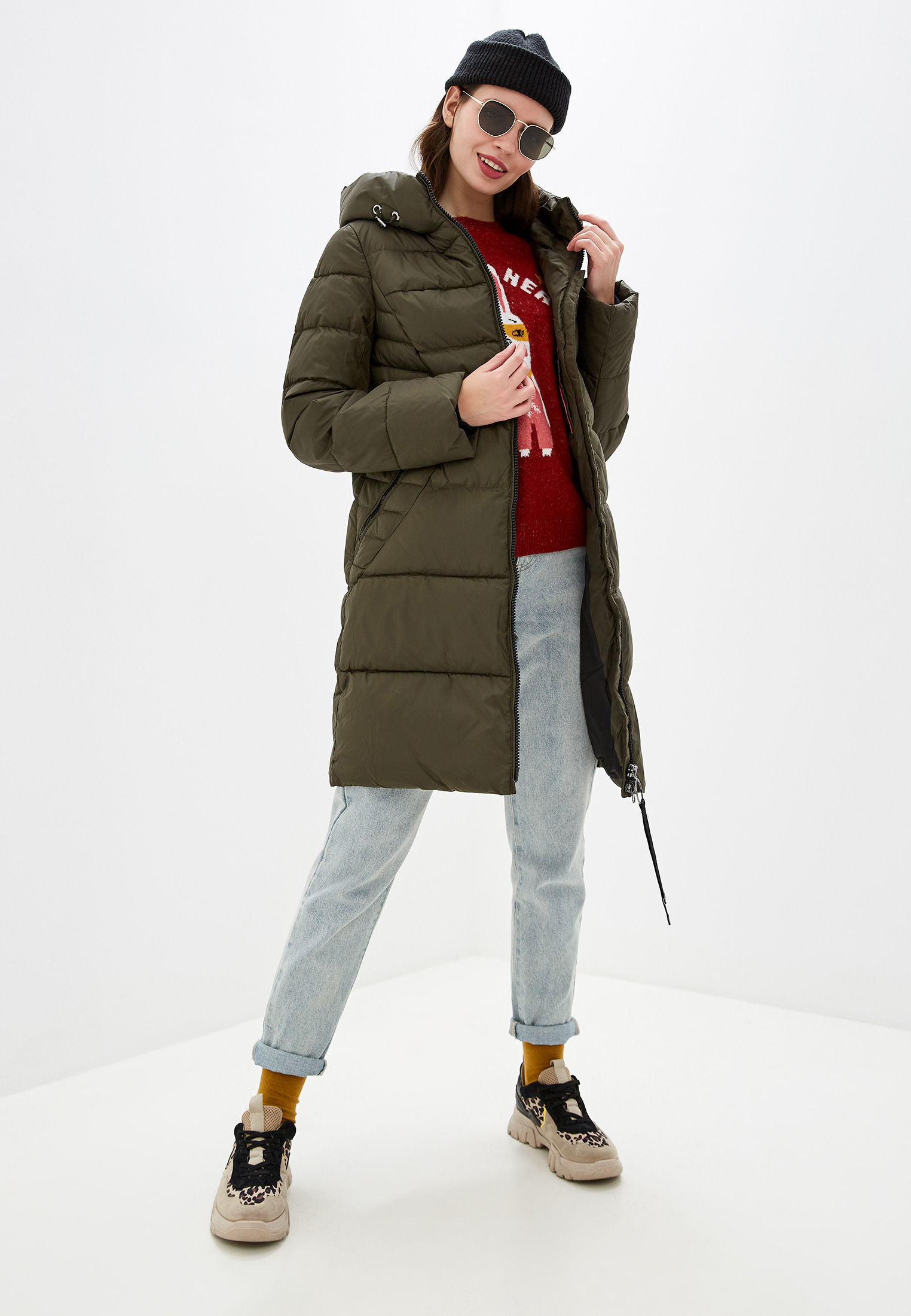 Утепленная куртка Clasna CW19D-507CW: изображение 2