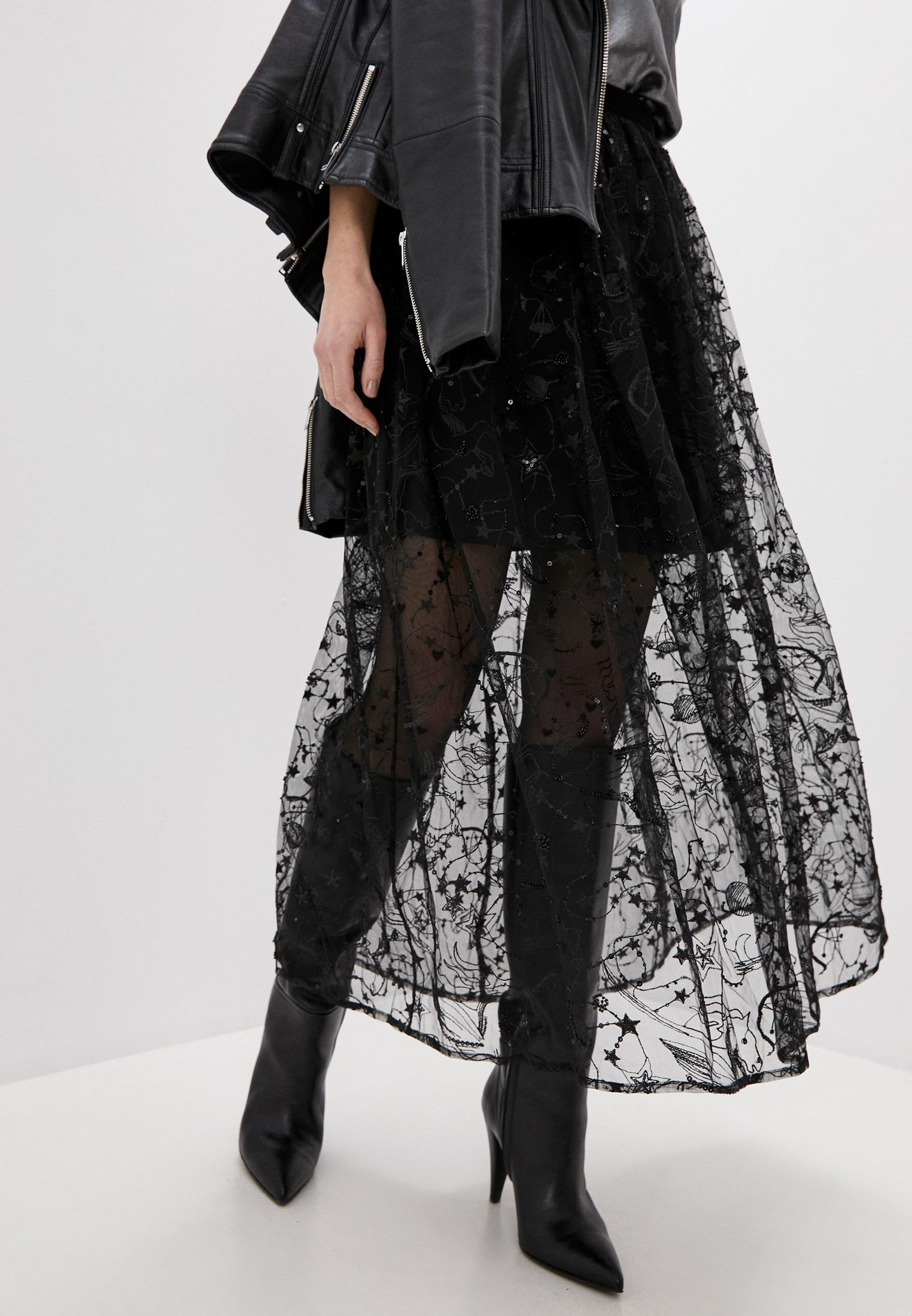 Широкая юбка Claudie Pierlot CFPJU00123: изображение 1