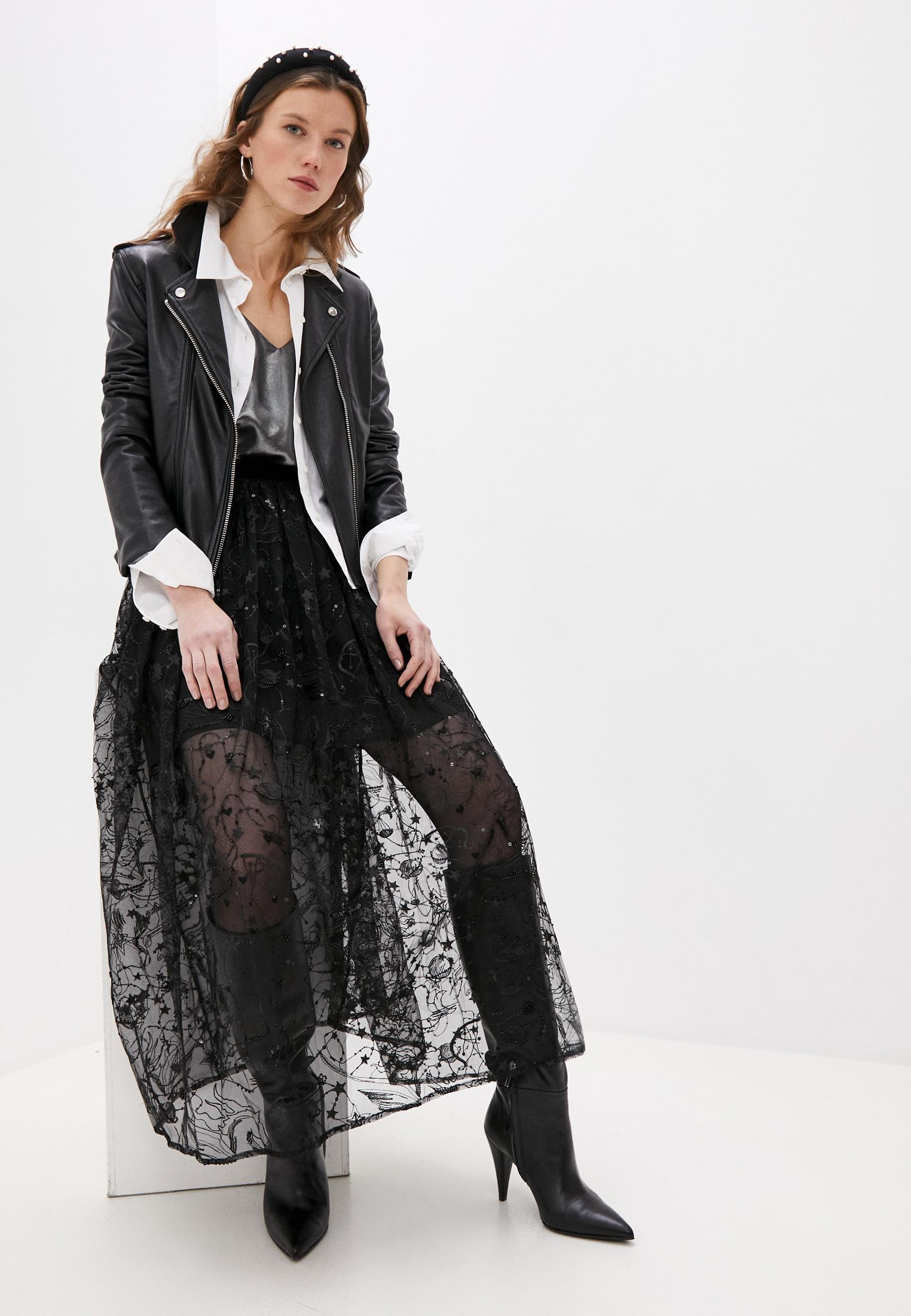 Широкая юбка Claudie Pierlot CFPJU00123: изображение 3