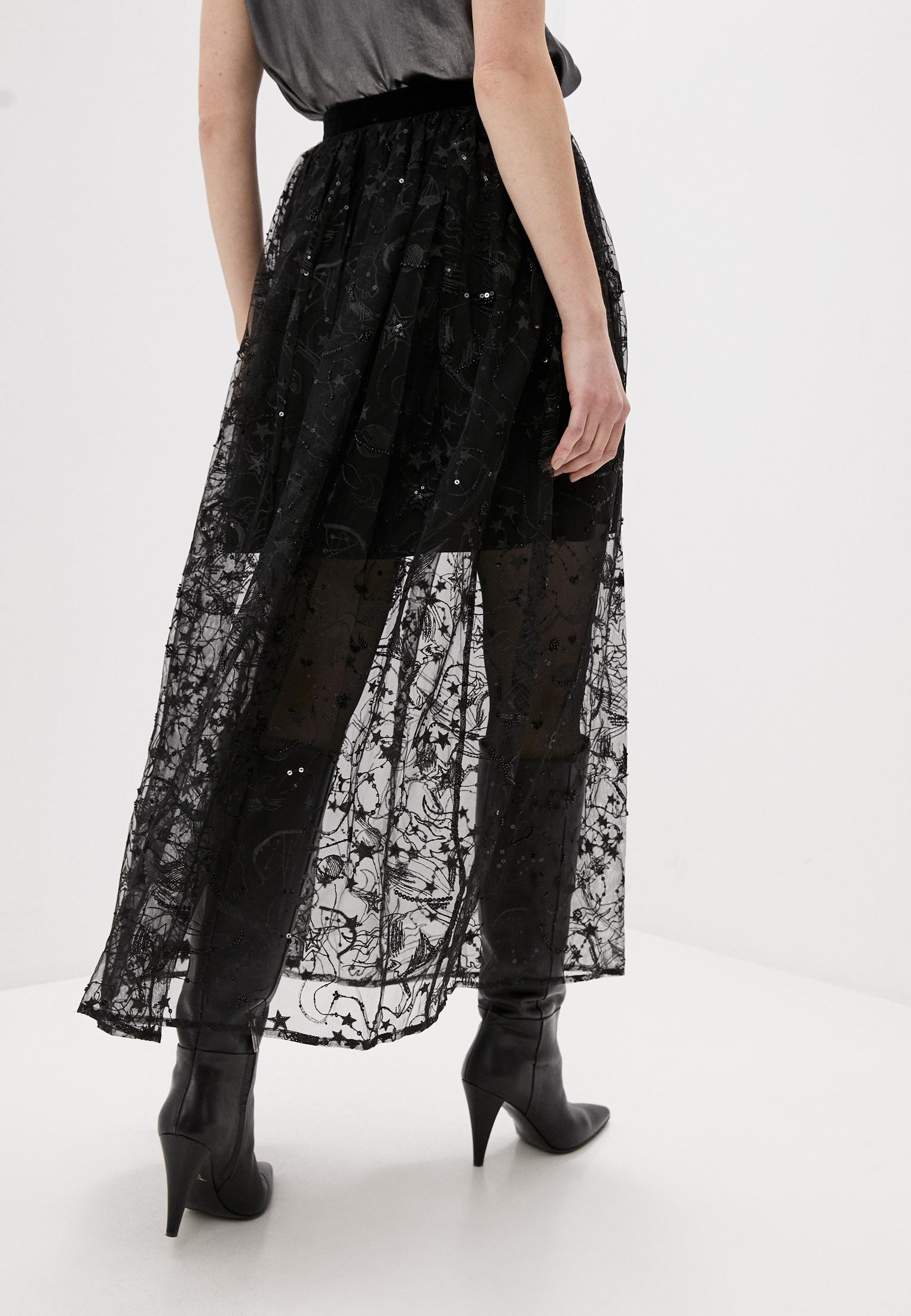 Широкая юбка Claudie Pierlot CFPJU00123: изображение 4