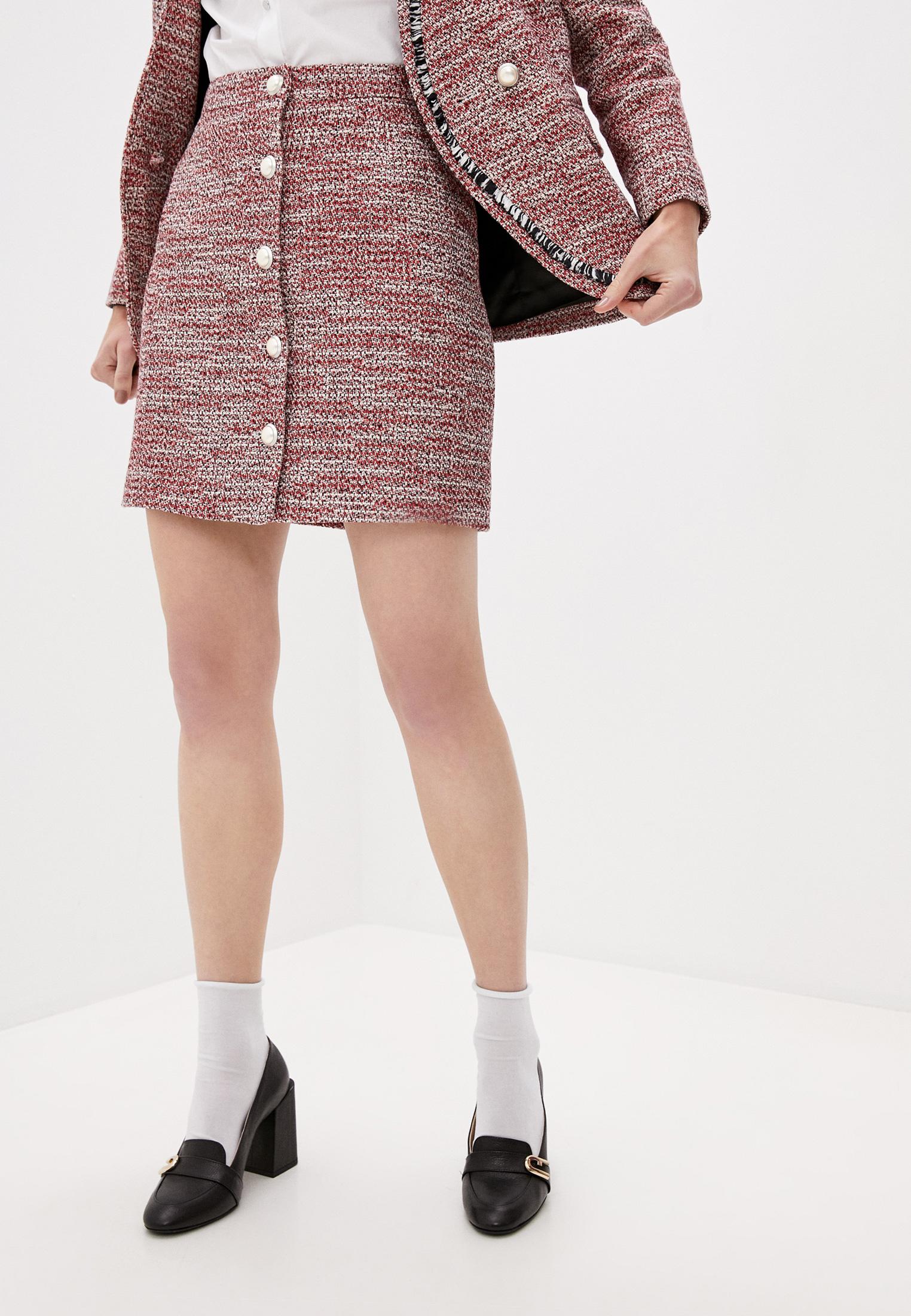Прямая юбка Claudie Pierlot CFPJU00128: изображение 1