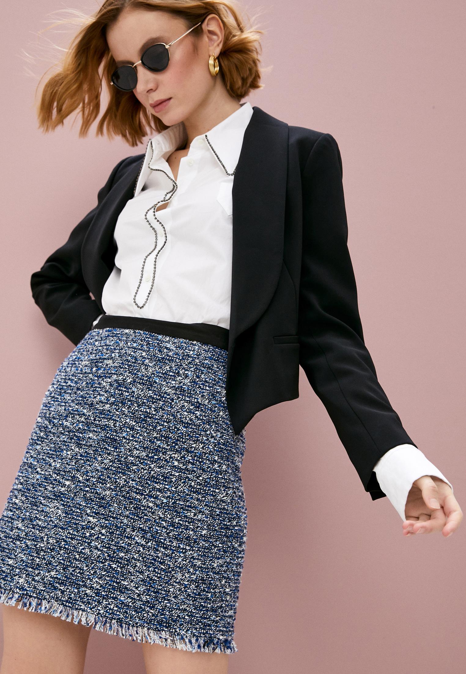 Прямая юбка Claudie Pierlot CFPJU00174: изображение 2