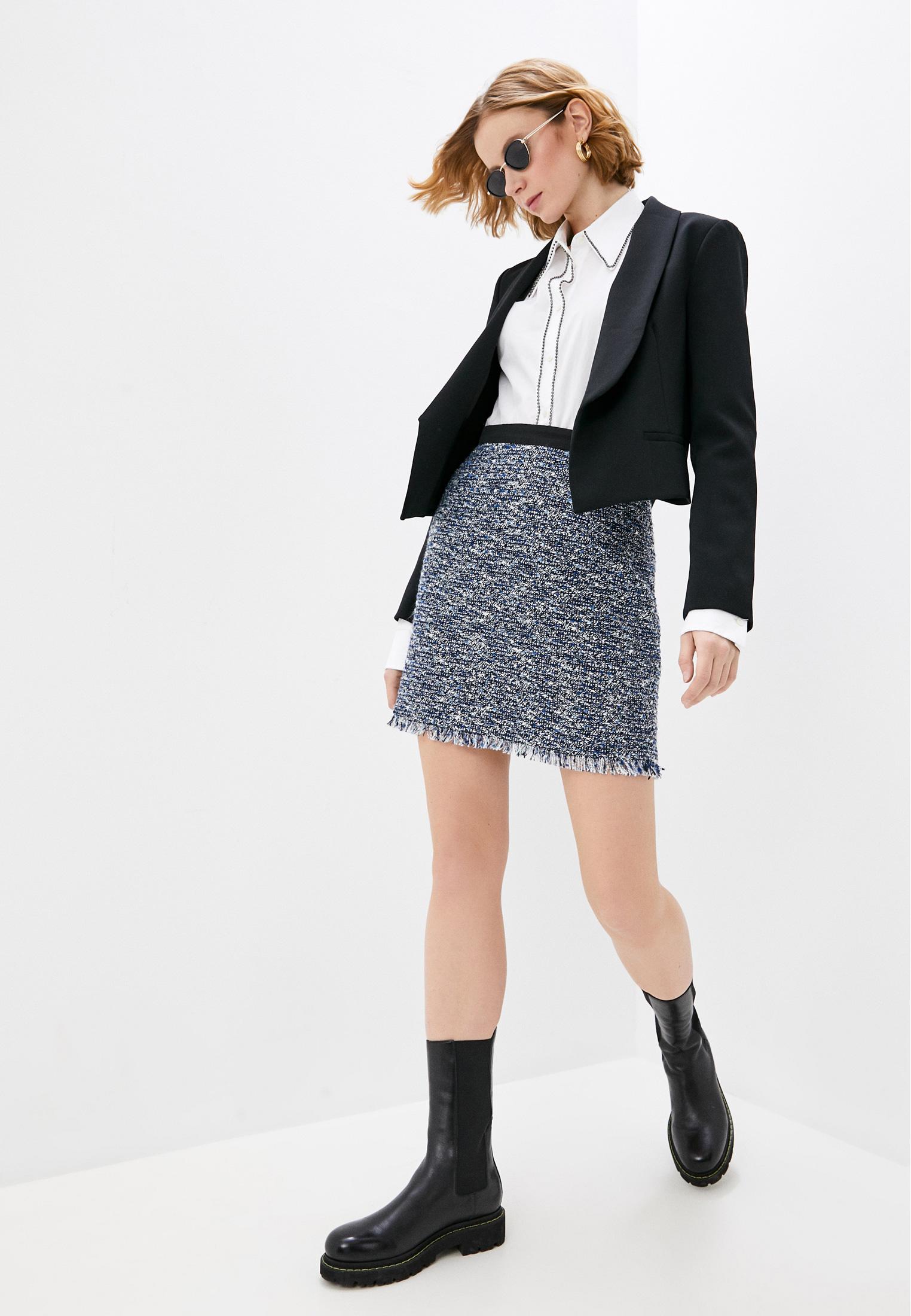 Прямая юбка Claudie Pierlot CFPJU00174: изображение 3