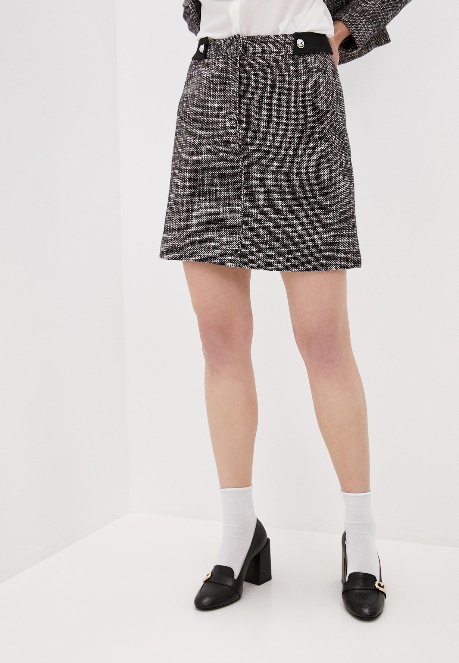 Прямая юбка Claudie Pierlot CFPJU00176