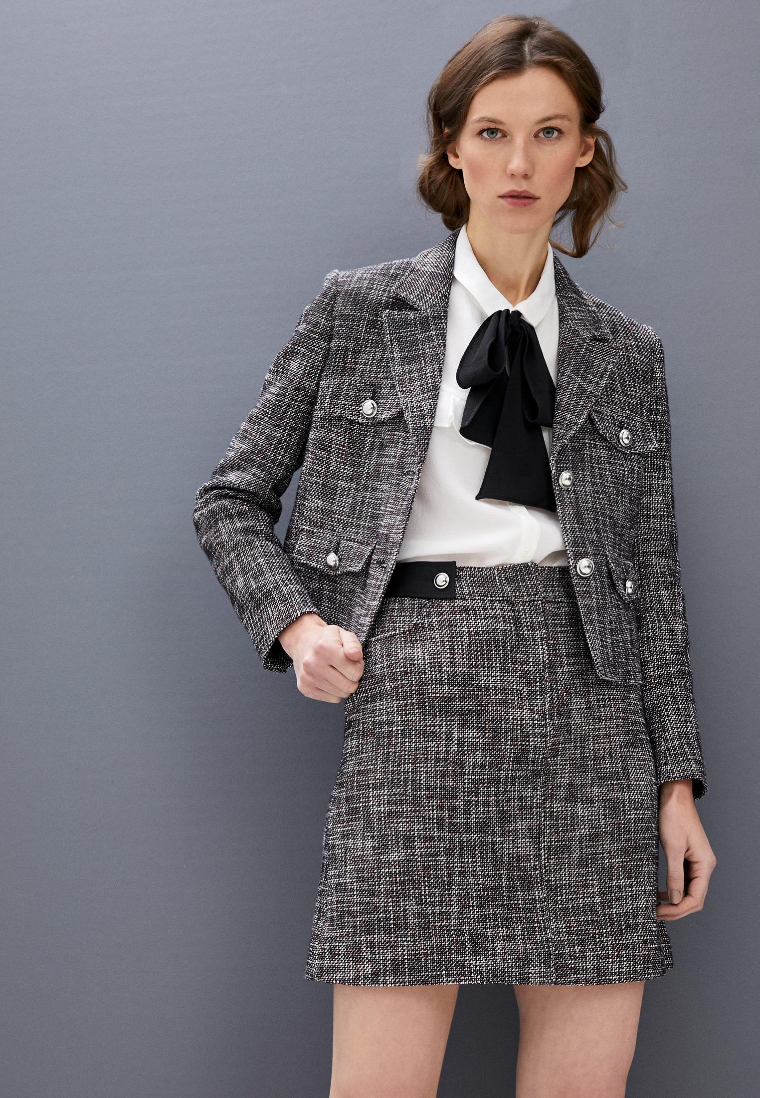 Прямая юбка Claudie Pierlot CFPJU00176: изображение 2