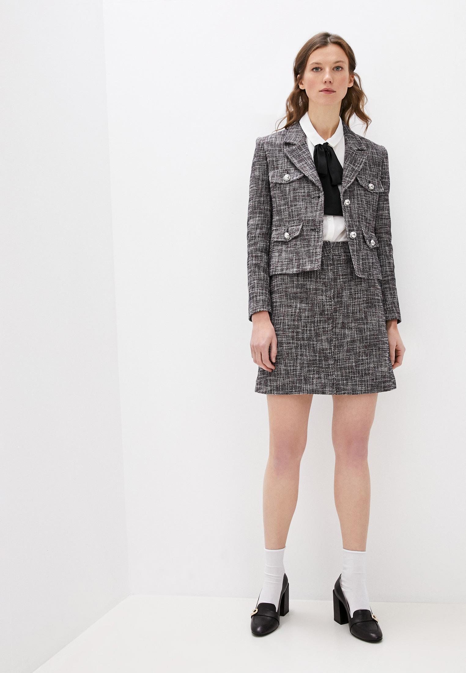 Прямая юбка Claudie Pierlot CFPJU00176: изображение 3
