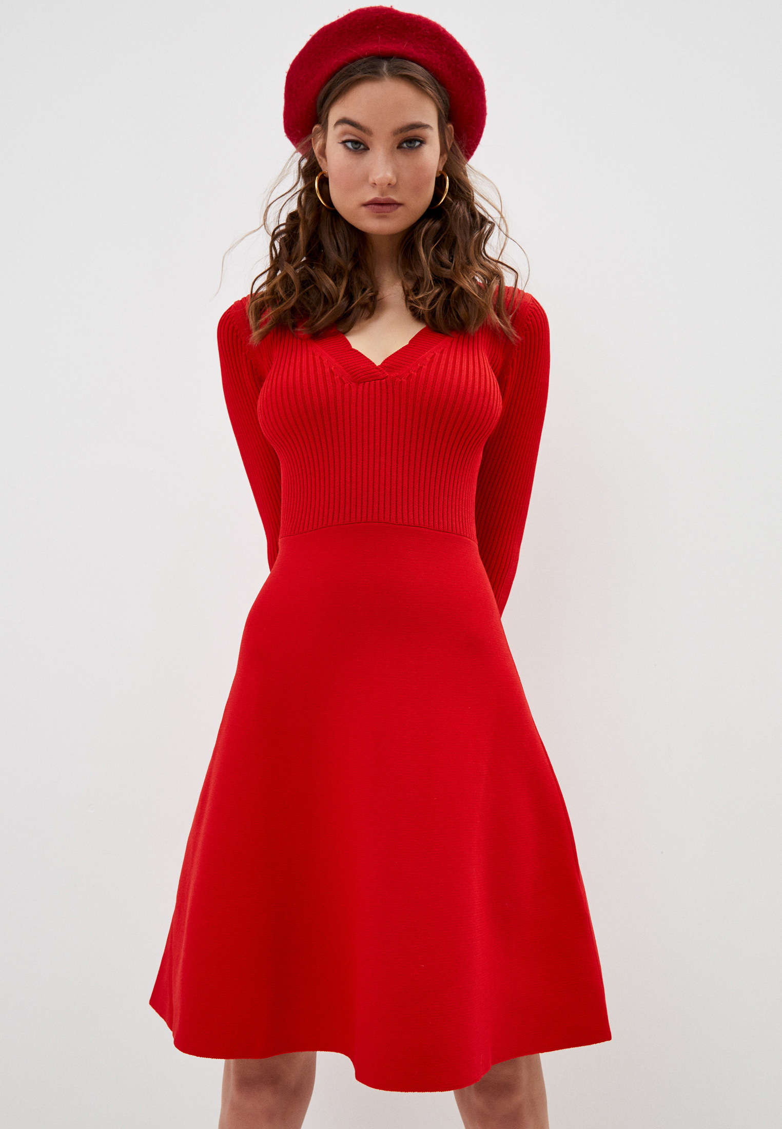 Вязаное платье Claudie Pierlot CFPRO00485