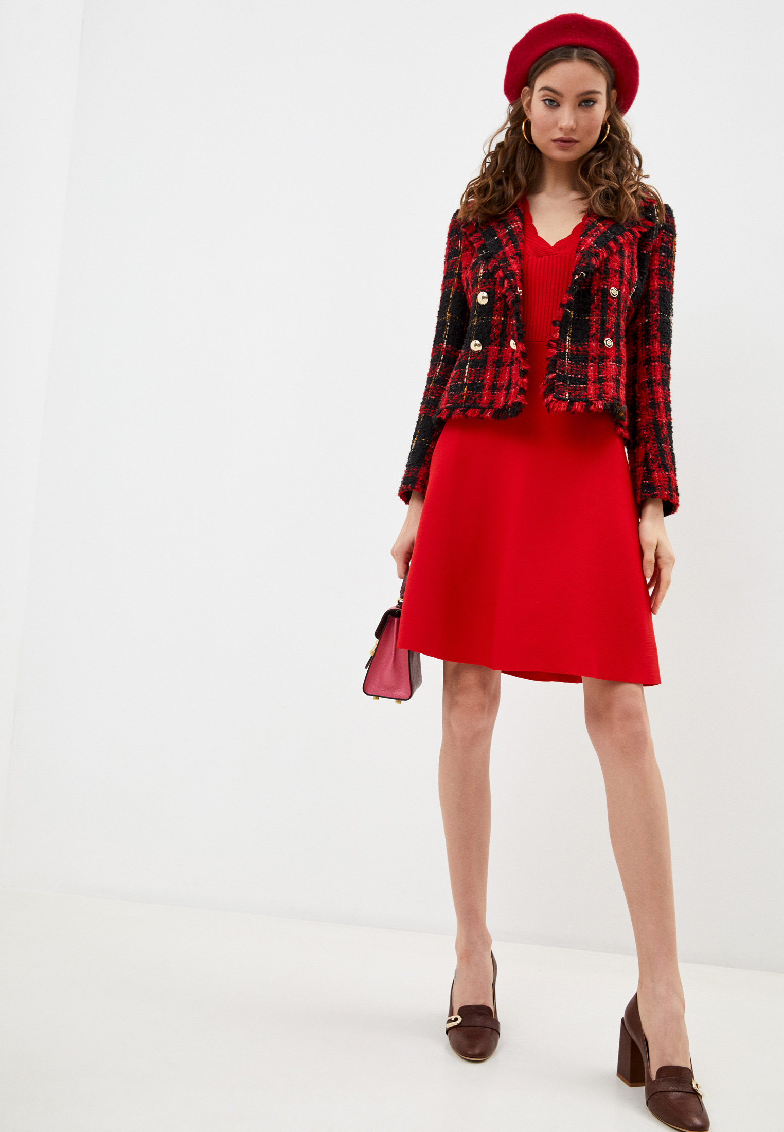 Вязаное платье Claudie Pierlot CFPRO00485: изображение 3