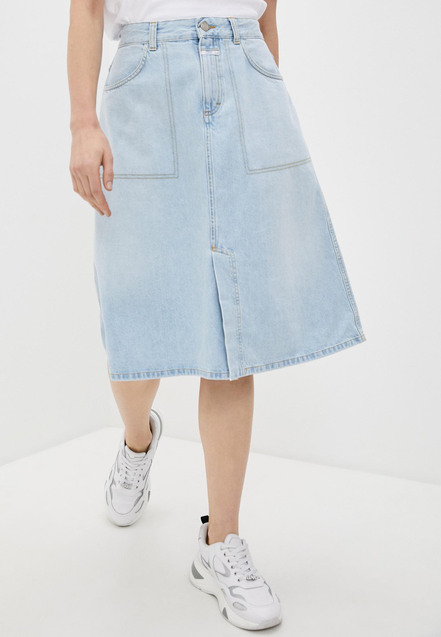 Джинсовая юбка Closed Юбка джинсовая Closed