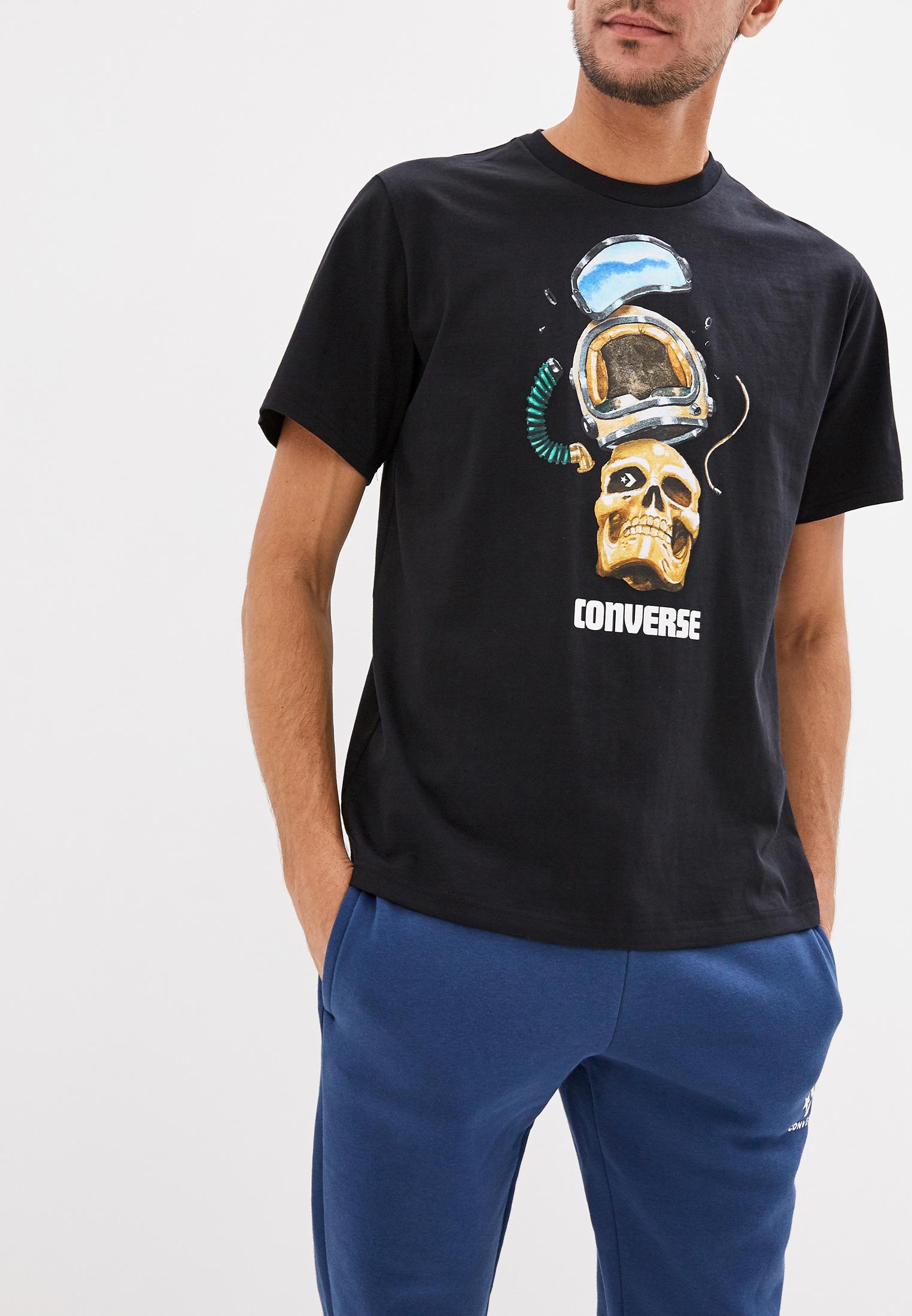 Футболка с коротким рукавом Converse (Конверс) 10017451