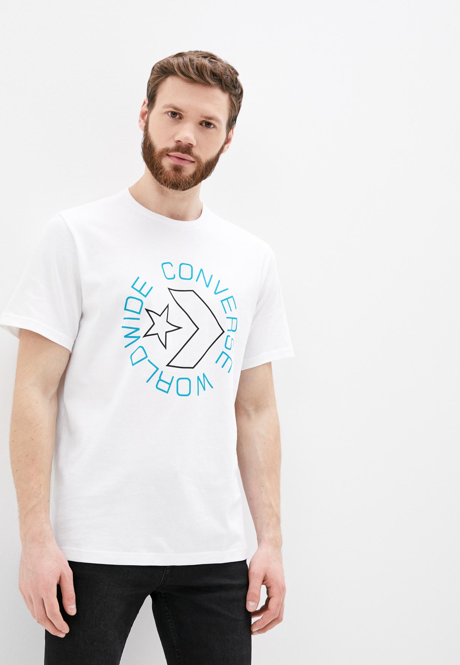 Футболка с коротким рукавом Converse (Конверс) 10019075102