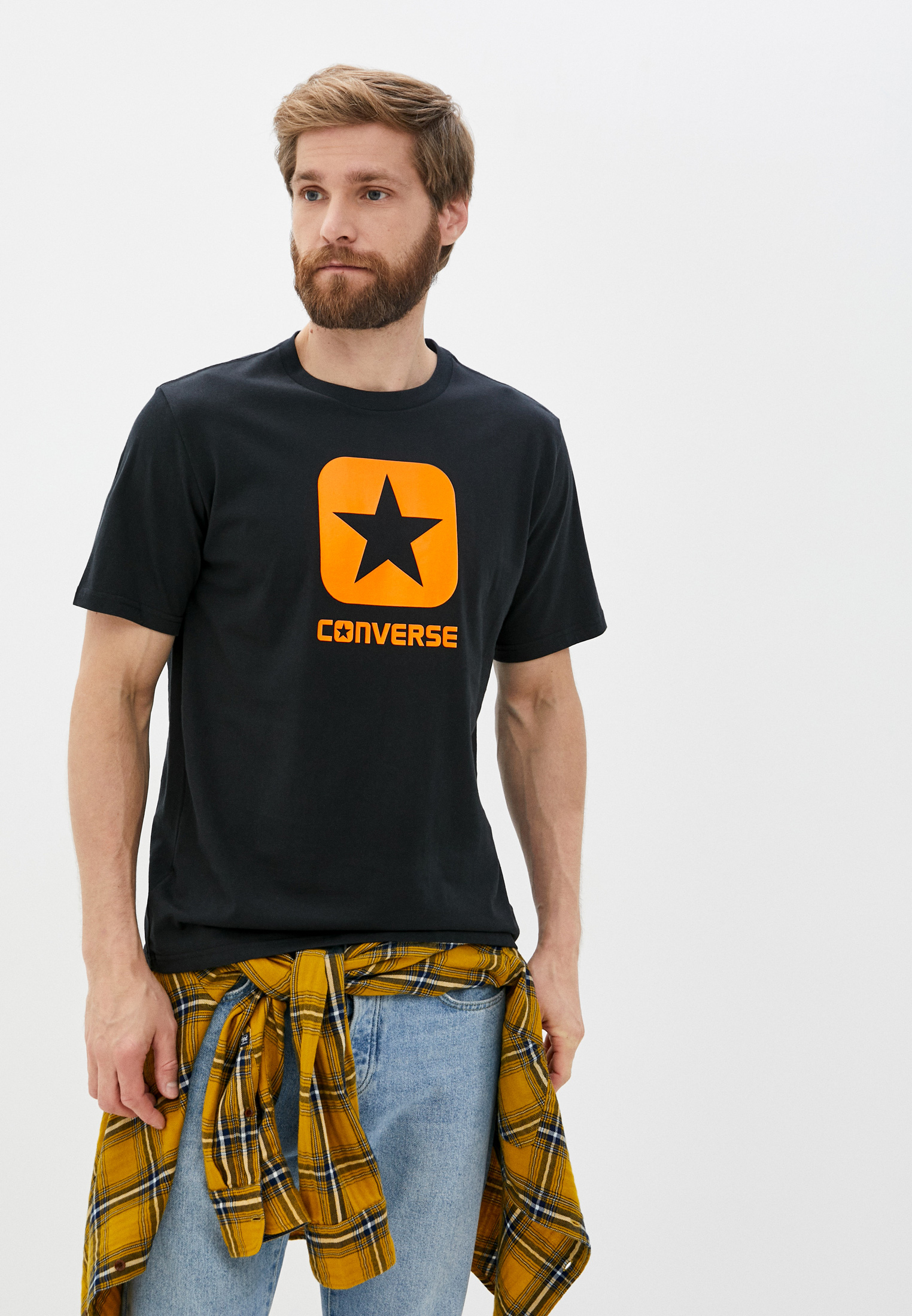 Футболка с коротким рукавом Converse (Конверс) 10019936001
