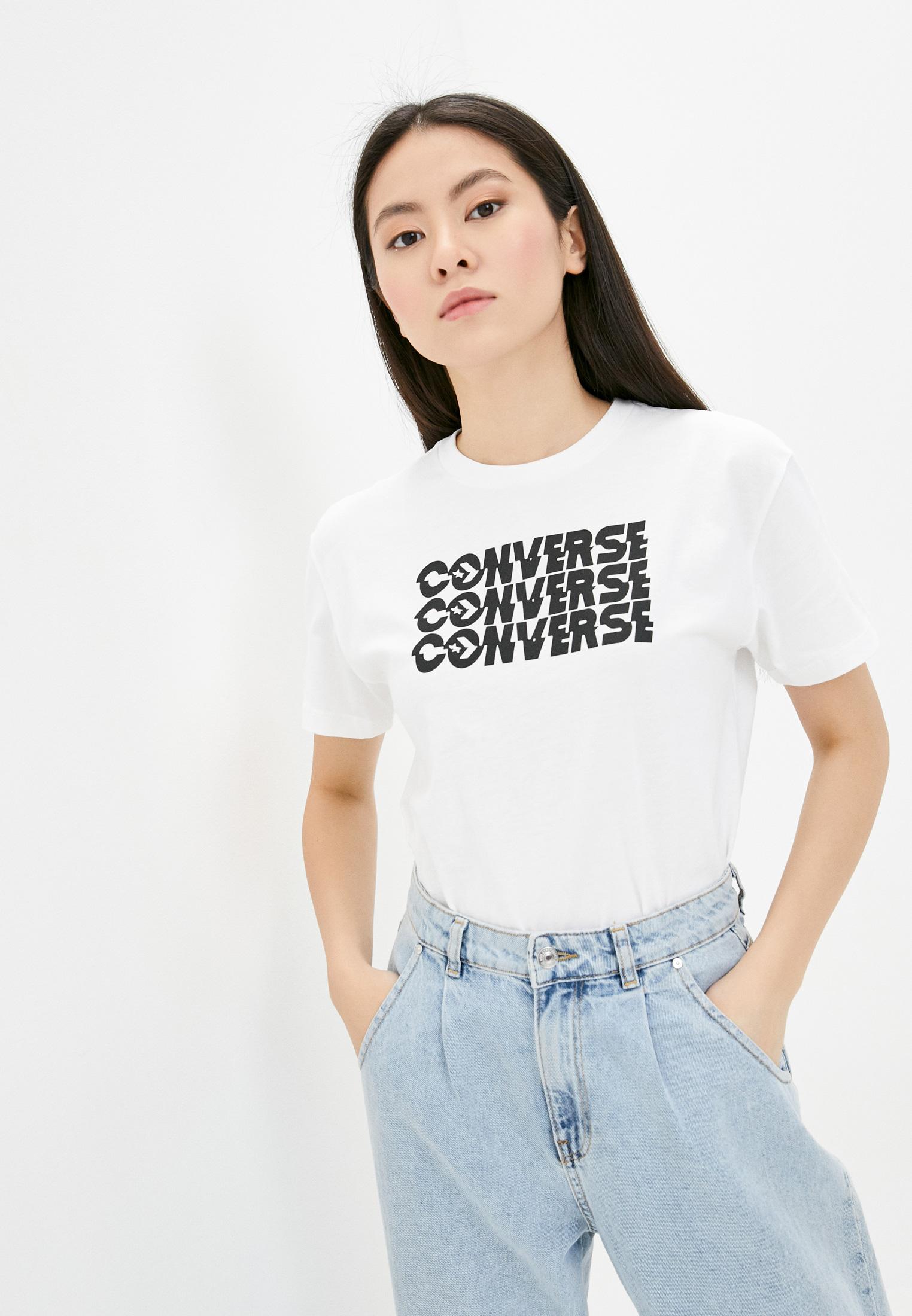 Футболка с коротким рукавом Converse (Конверс) 10019575102
