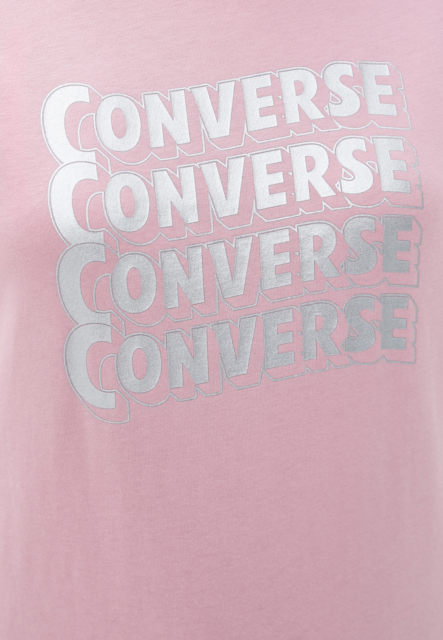Футболка с коротким рукавом Converse (Конверс) 10020553690: изображение 3