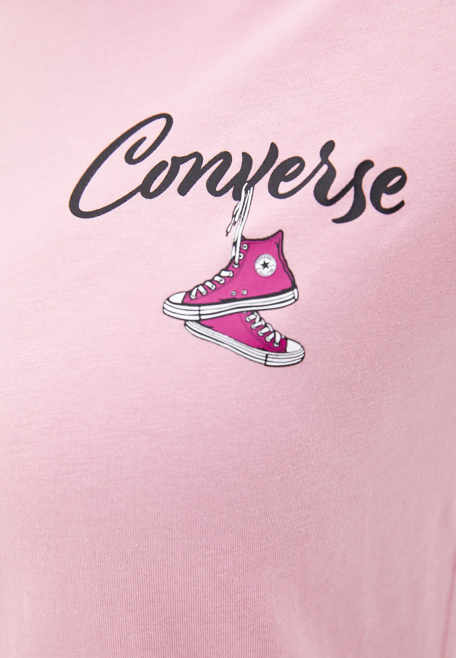 Футболка с коротким рукавом Converse (Конверс) 10020554690: изображение 3