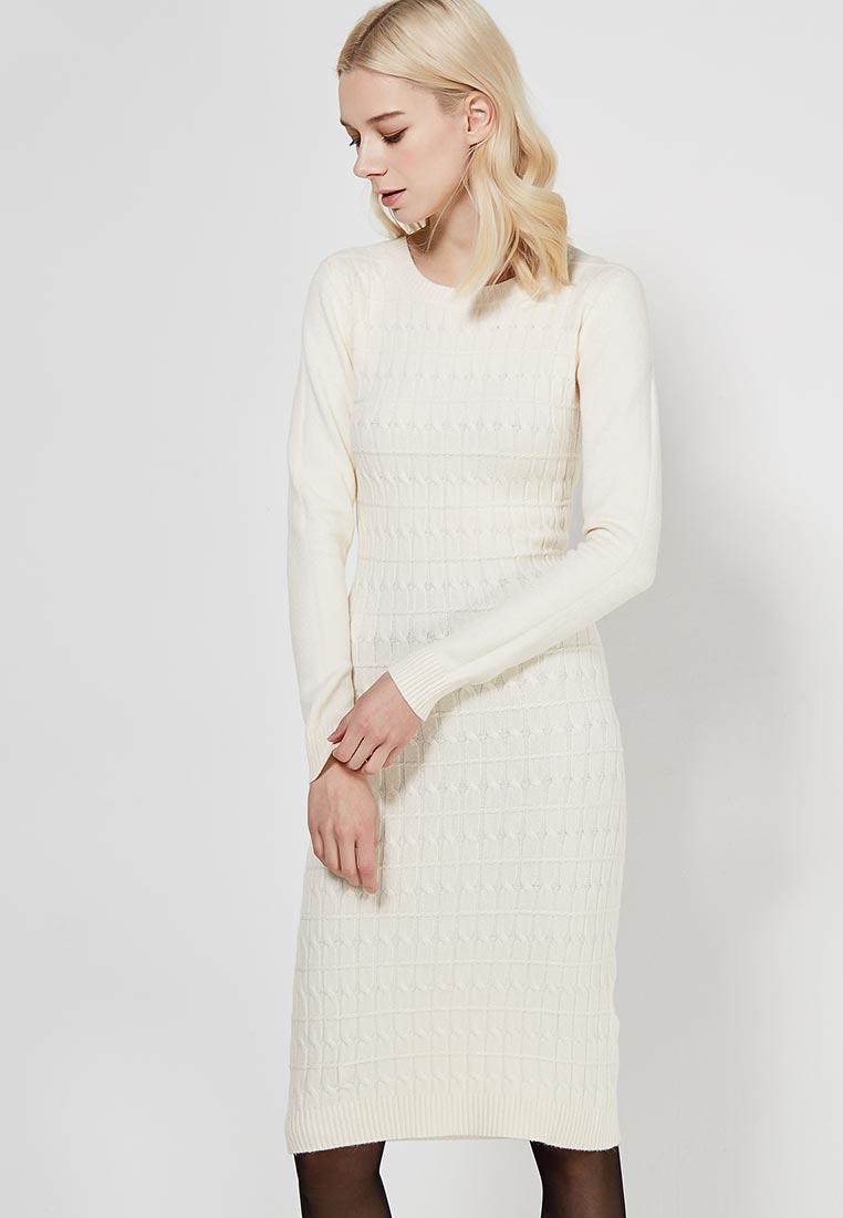 Вязаное платье Conso Wear KWDL170735 - milk