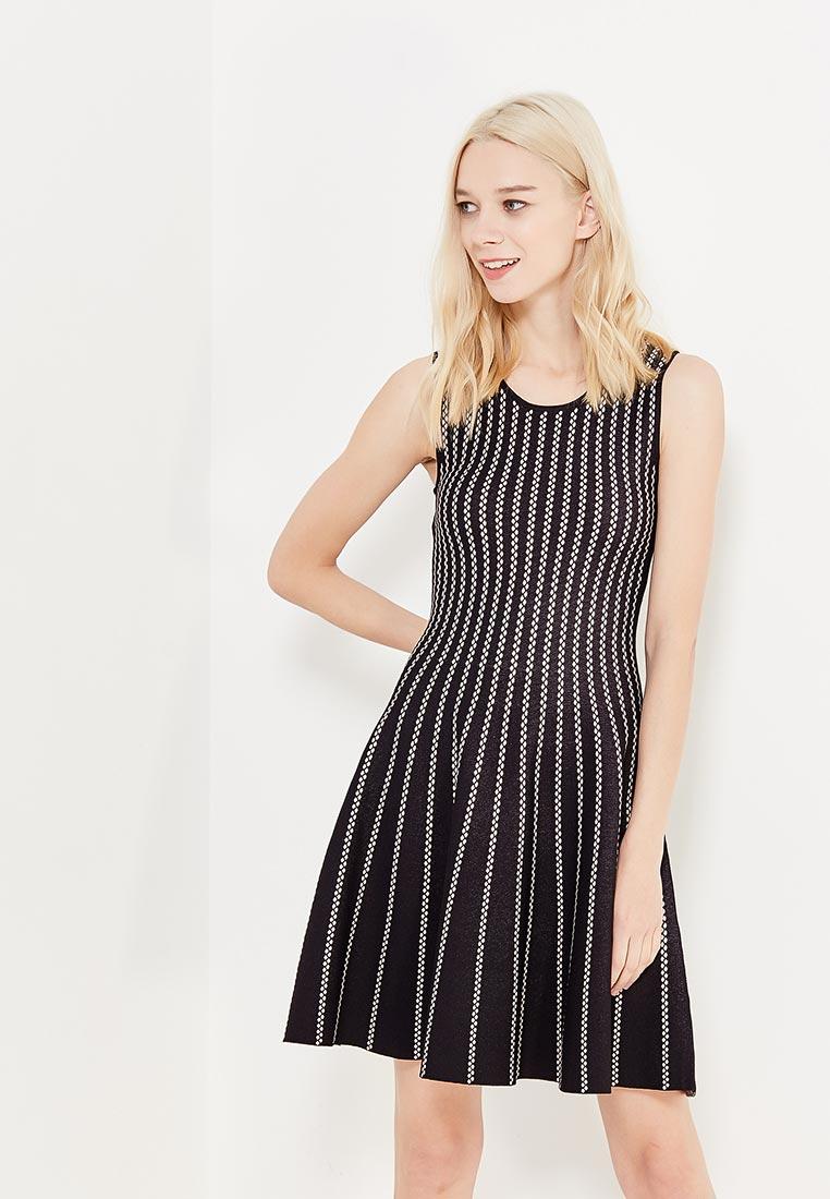 Вечернее / коктейльное платье Conso Wear KWDS170906 - black/beige