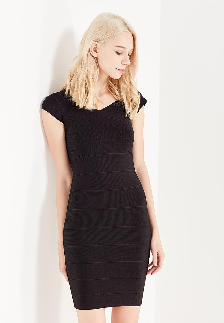 Вечернее / коктейльное платье Conso Wear KWDS170907 - black