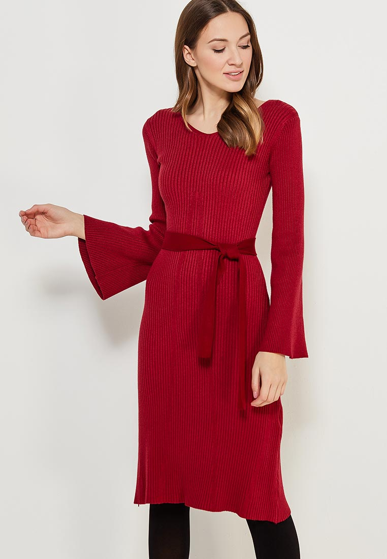 Платье Conso Wear KWDL170786 - marsala