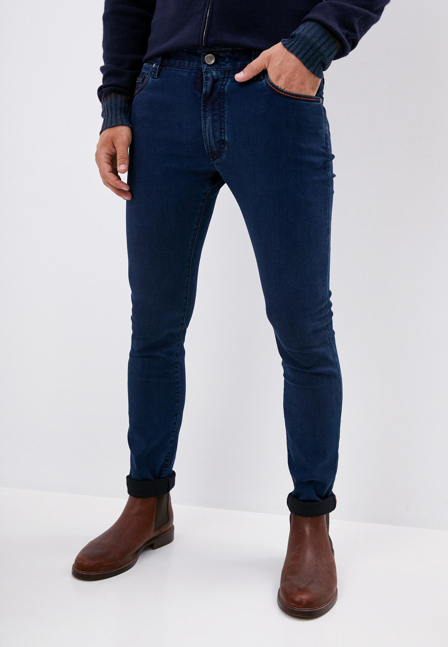 Зауженные джинсы Cortigiani 913530