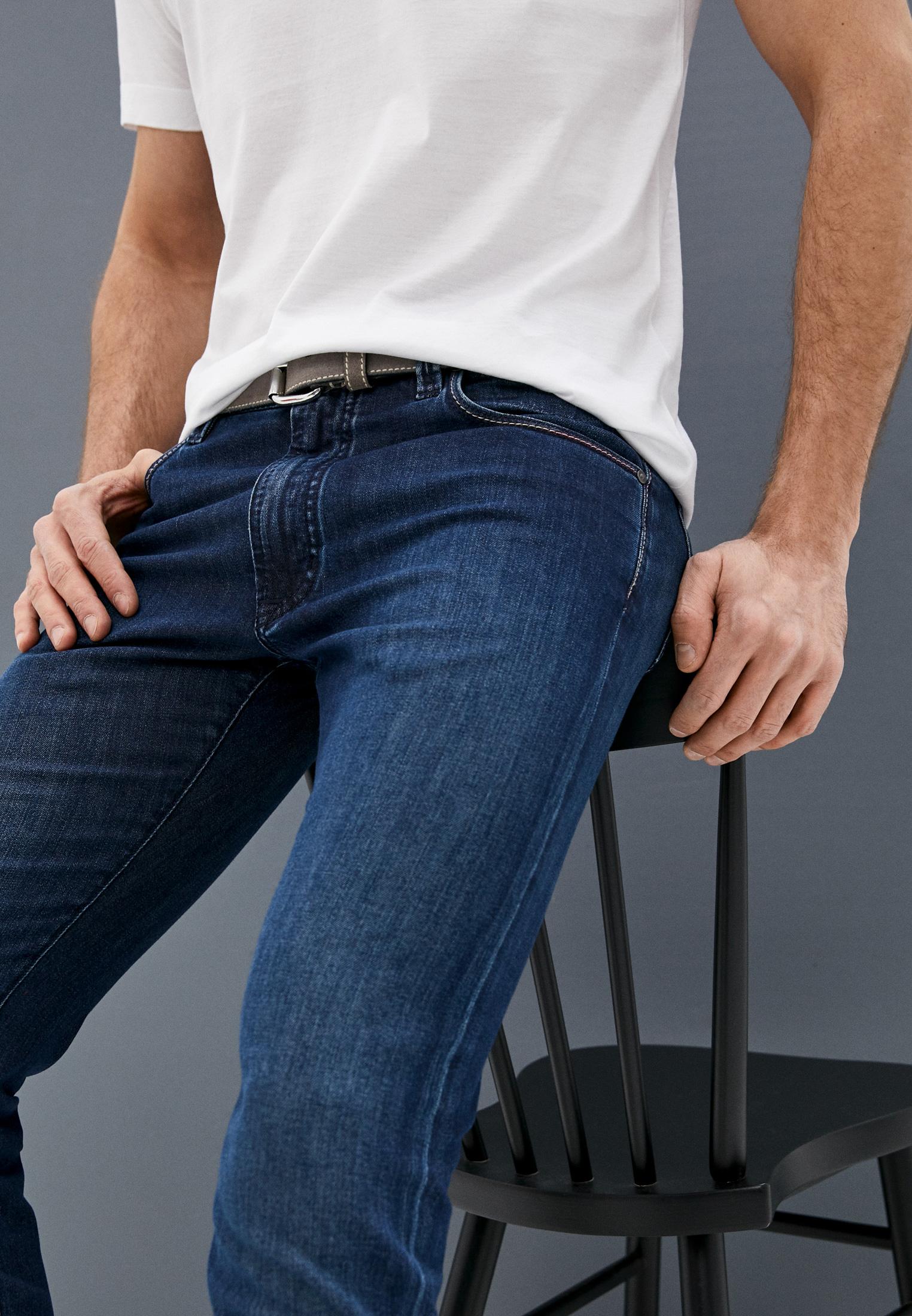 Мужские прямые джинсы Cortigiani 113540: изображение 2