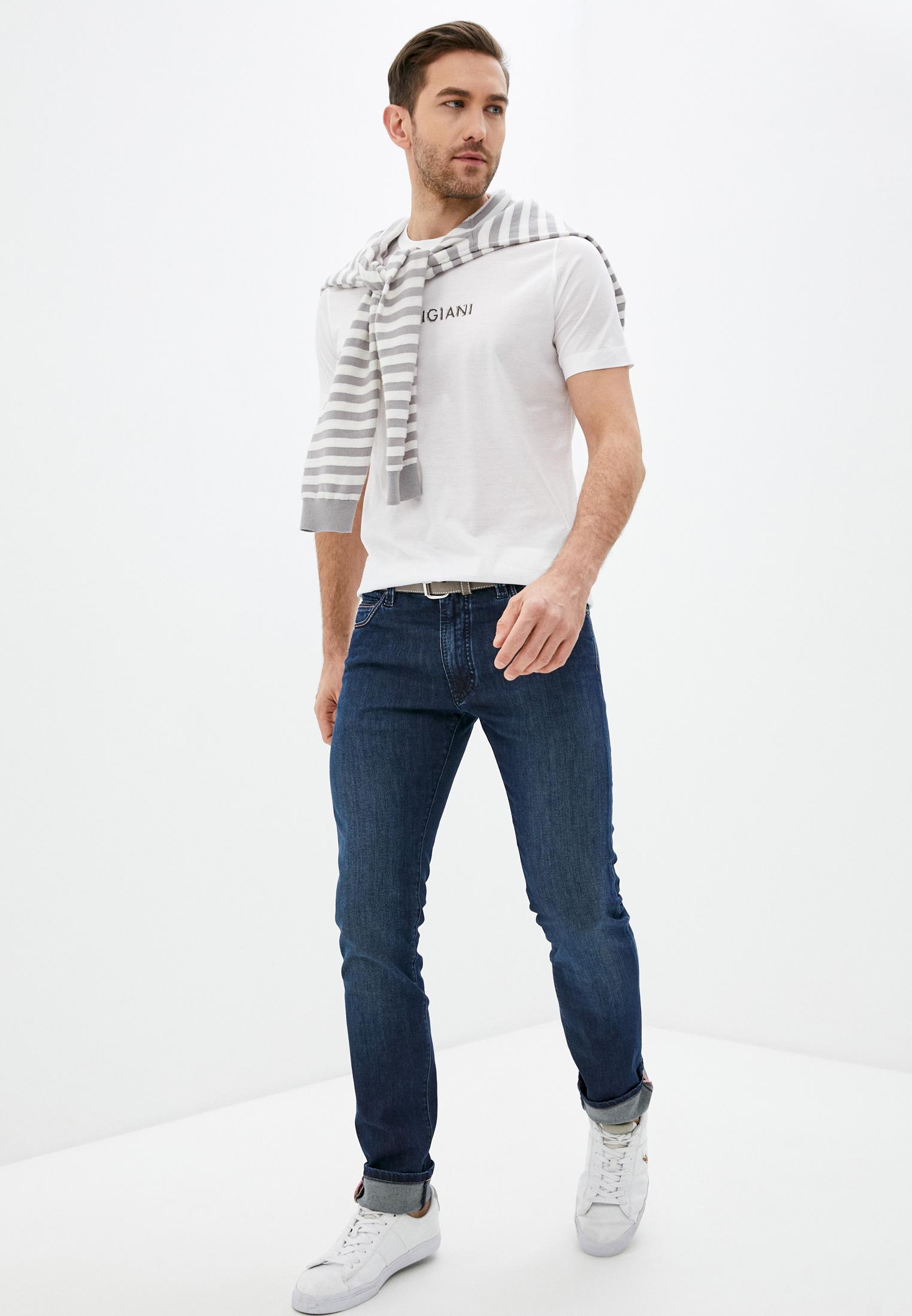 Мужские прямые джинсы Cortigiani 113540: изображение 3