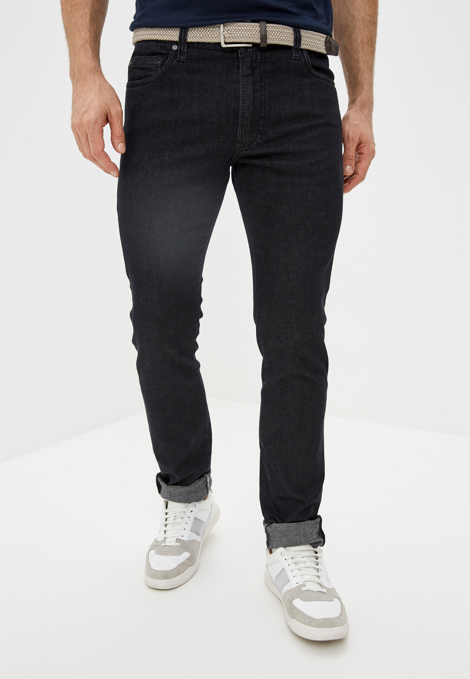 Мужские прямые джинсы Cortigiani 113520