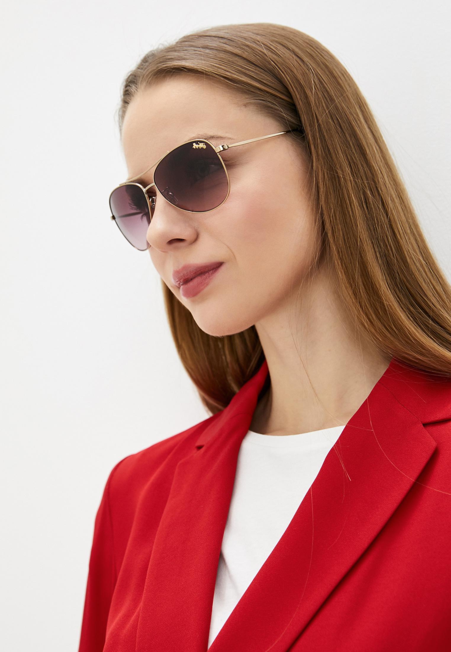 Женские солнцезащитные очки Coach 0HC7079: изображение 6