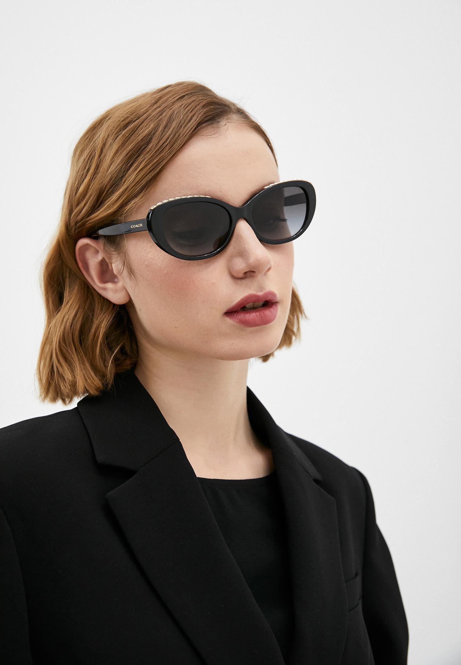 Женские солнцезащитные очки Coach 0HC8296U: изображение 6