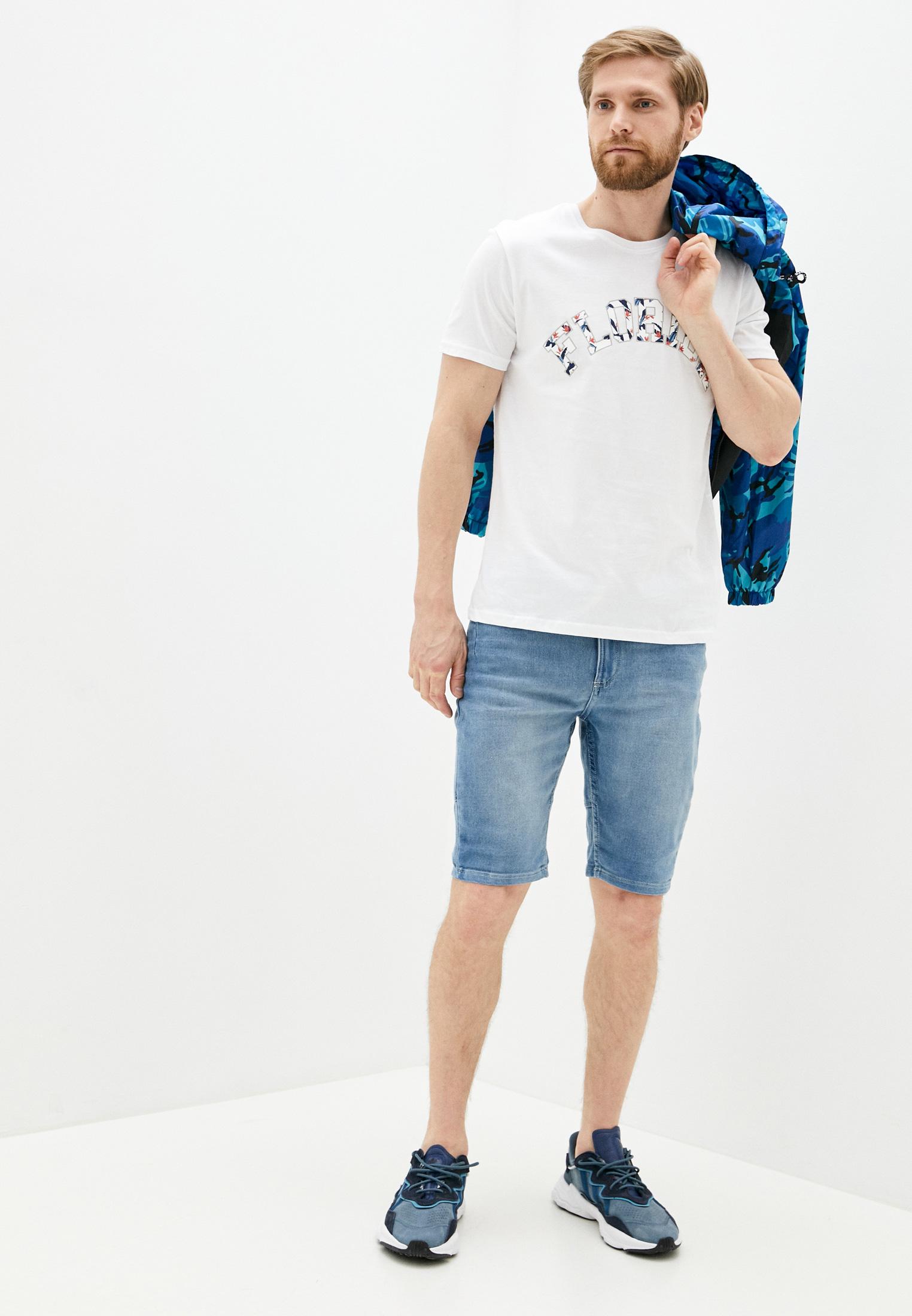 Мужские джинсовые шорты Code 115913: изображение 2