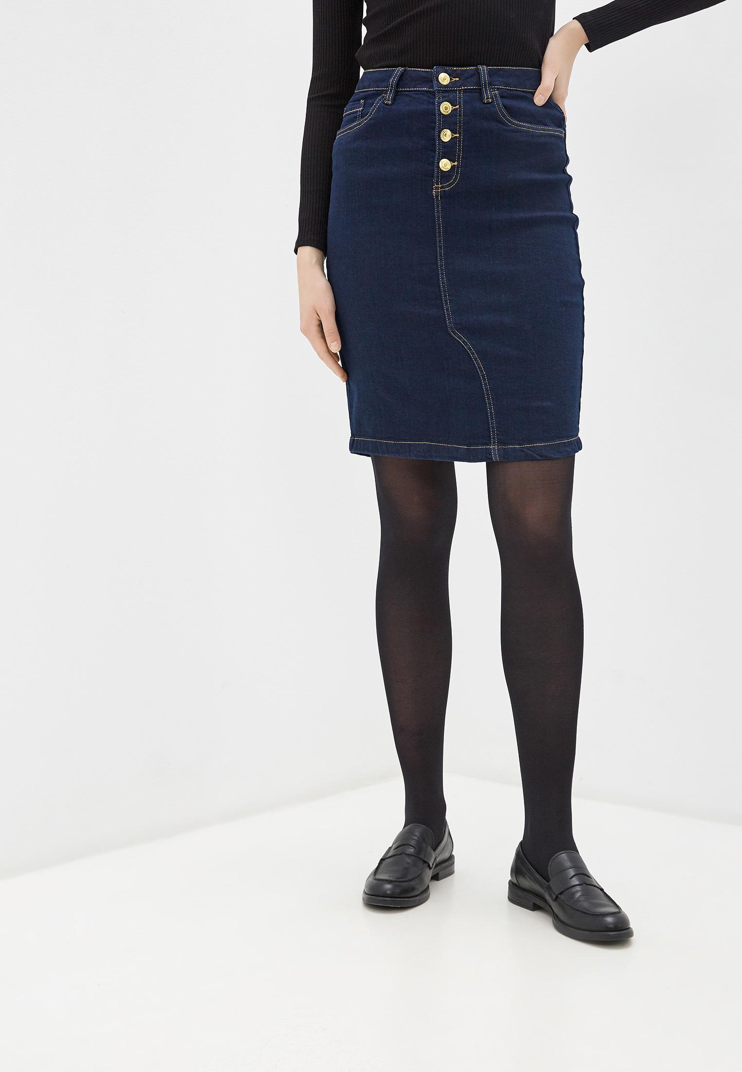 Джинсовая юбка Code 250735