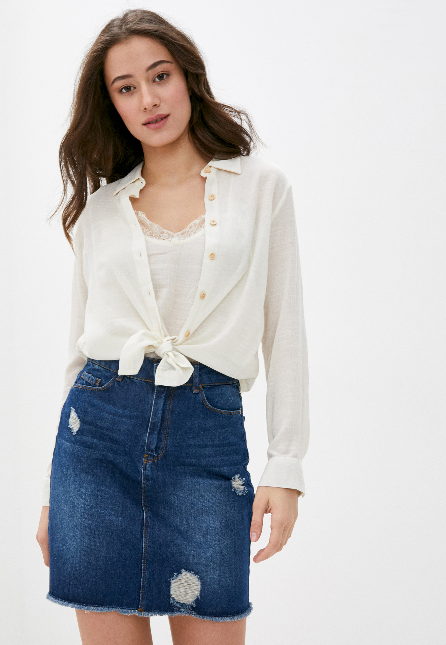 Женские рубашки с длинным рукавом Code 203347