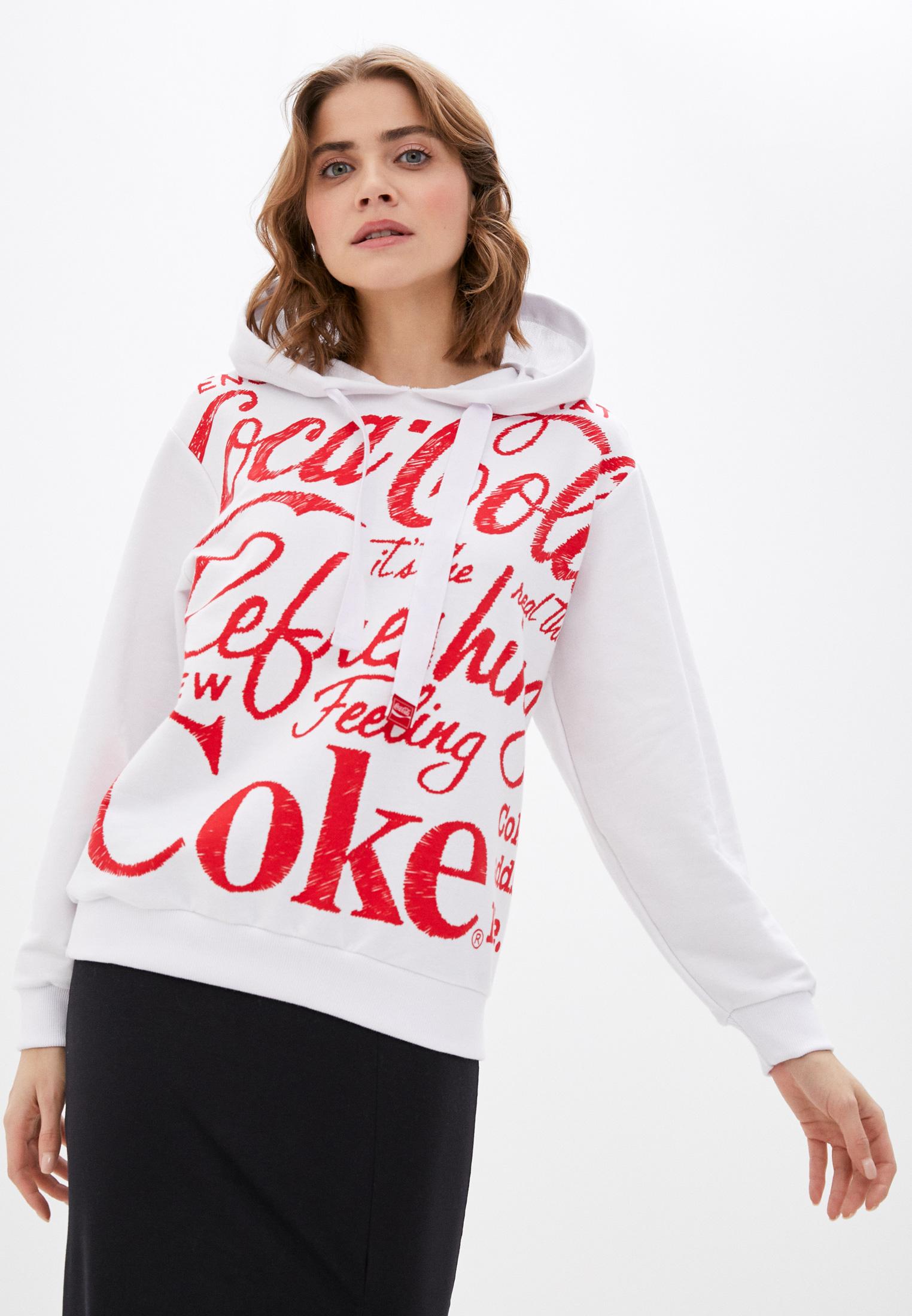 Женские худи Coca Cola Jeans Худи Coca Cola Jeans