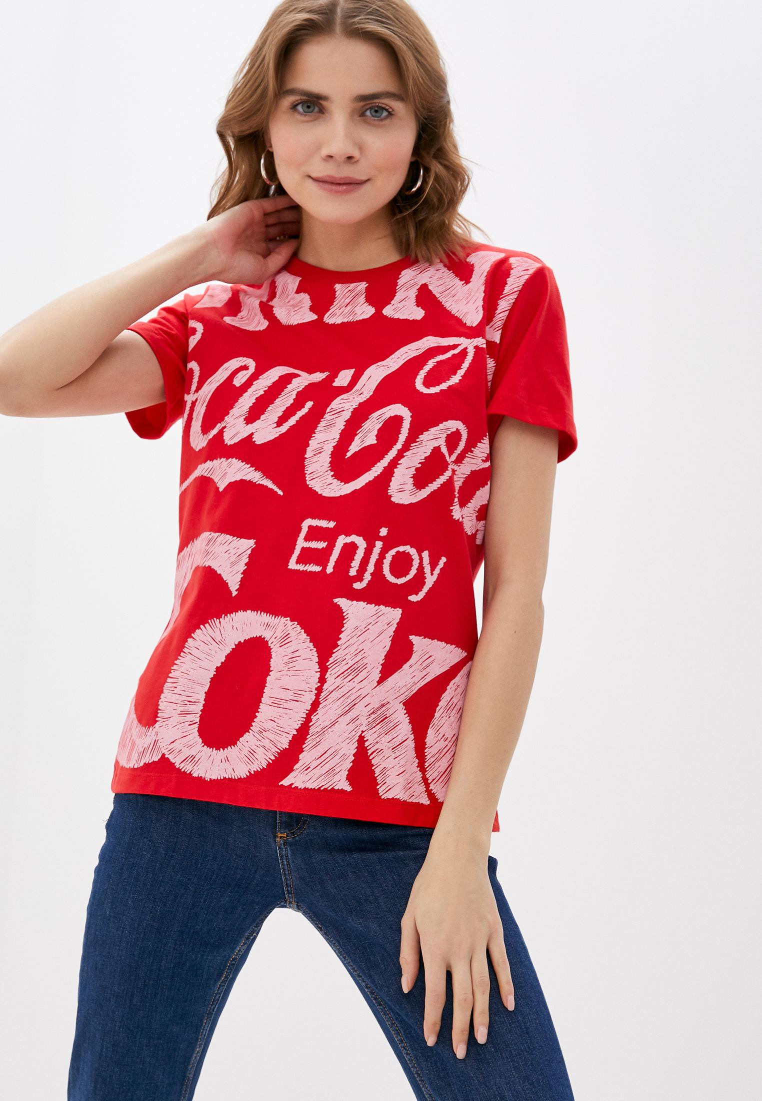 Футболка с коротким рукавом Coca Cola Jeans 034.32.02916: изображение 1