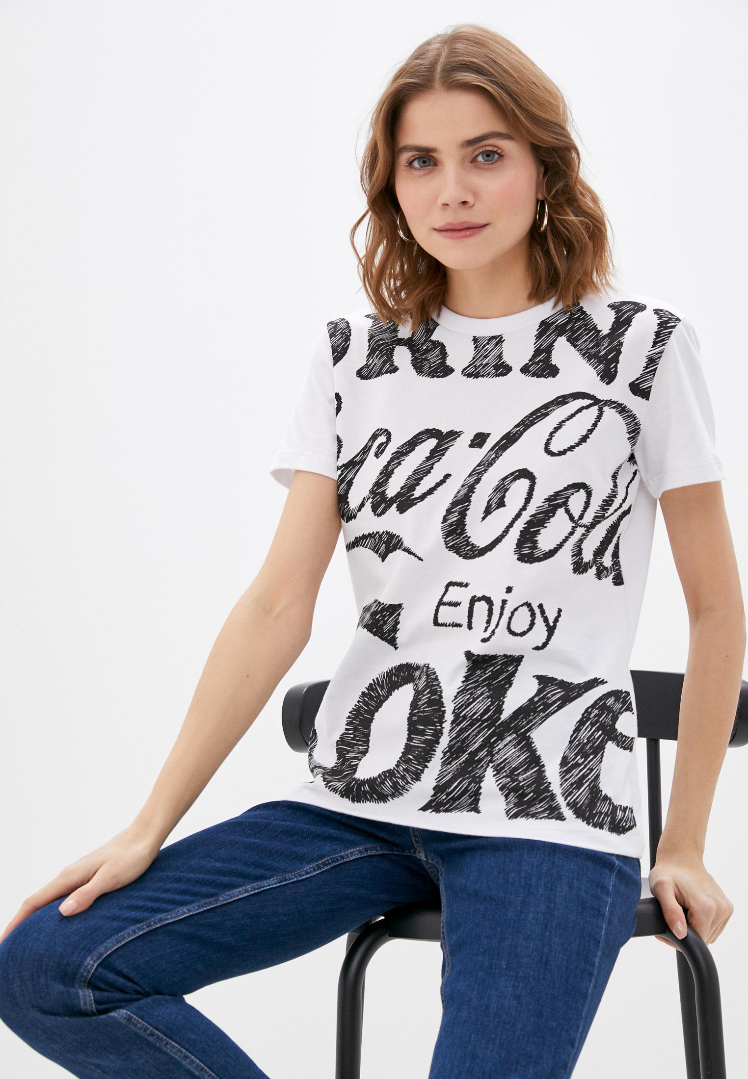 Футболка с коротким рукавом Coca Cola Jeans 034.32.02916