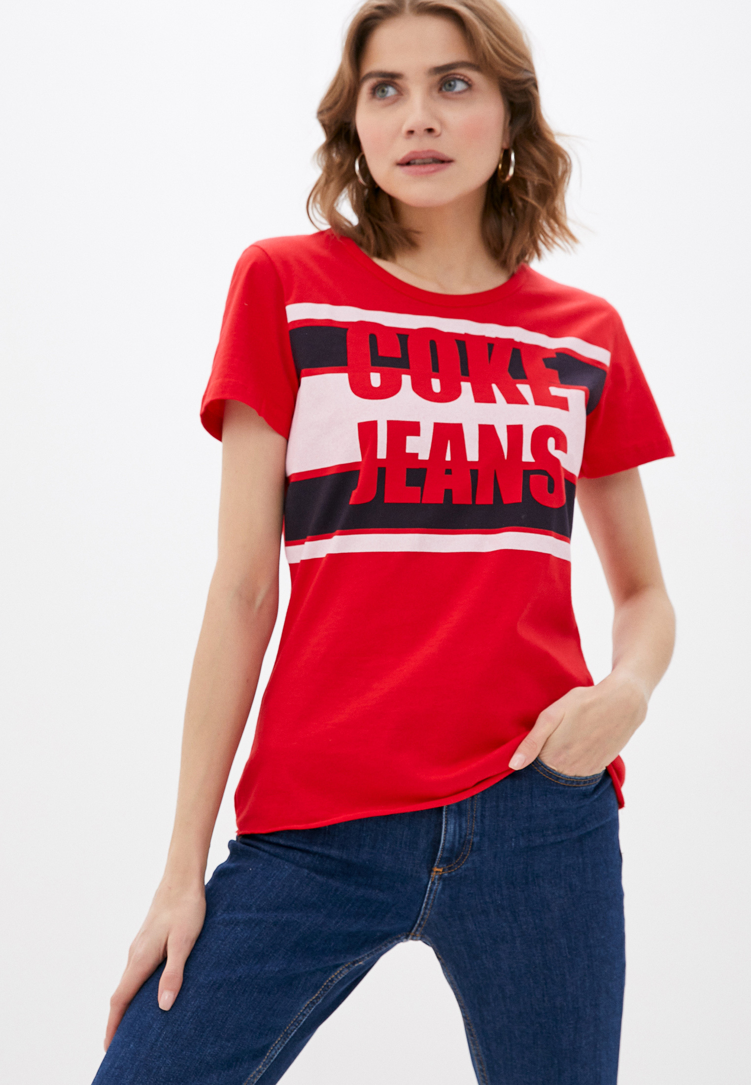 Футболка с коротким рукавом Coca Cola Jeans 034.32.02977: изображение 1