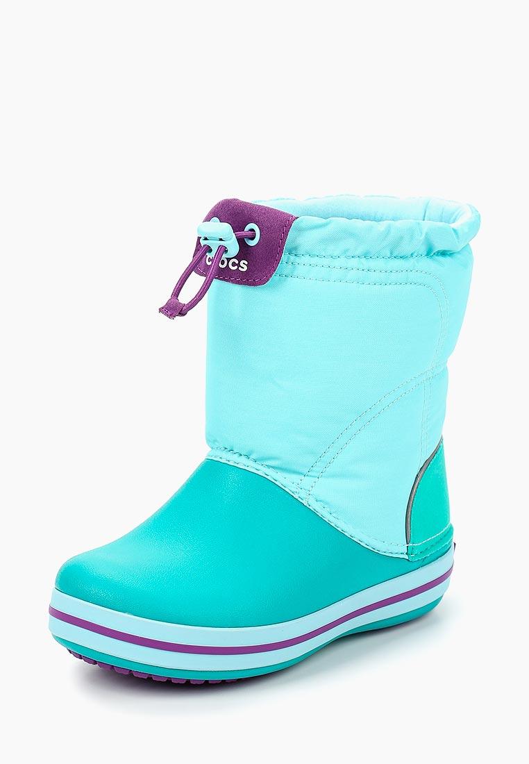 Дутики для девочек  Crocs (Крокс) 203509-4IM