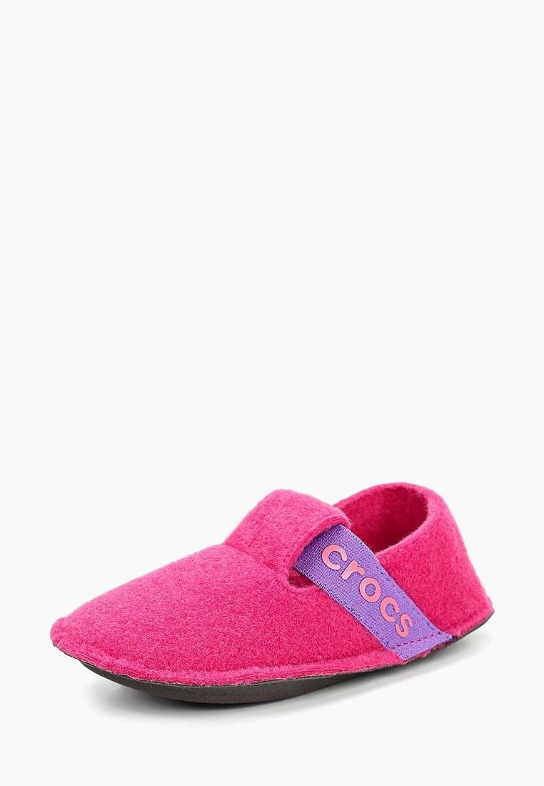 Домашняя обувь для девочек Crocs (Крокс) 205349-6X0