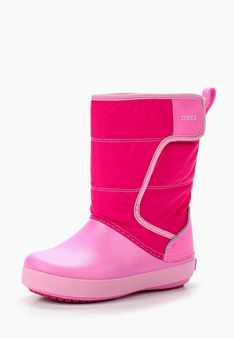 Дутики для девочек  Crocs (Крокс) 204660