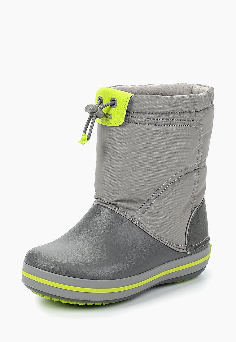 Дутики для девочек  Crocs (Крокс) 203509-08G