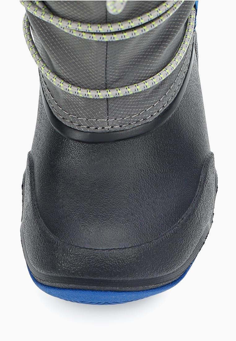 Дутики для девочек  Crocs (Крокс) 204657: изображение 4