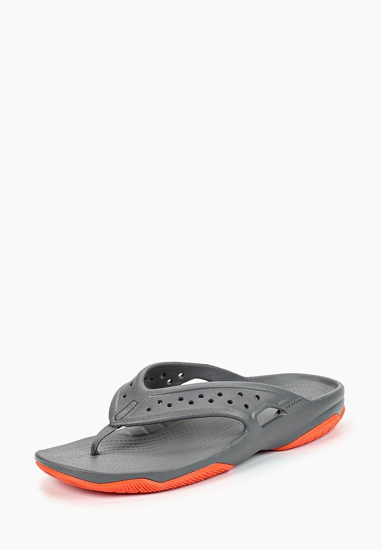 Мужские сланцы Crocs (Крокс) 204961-0EK
