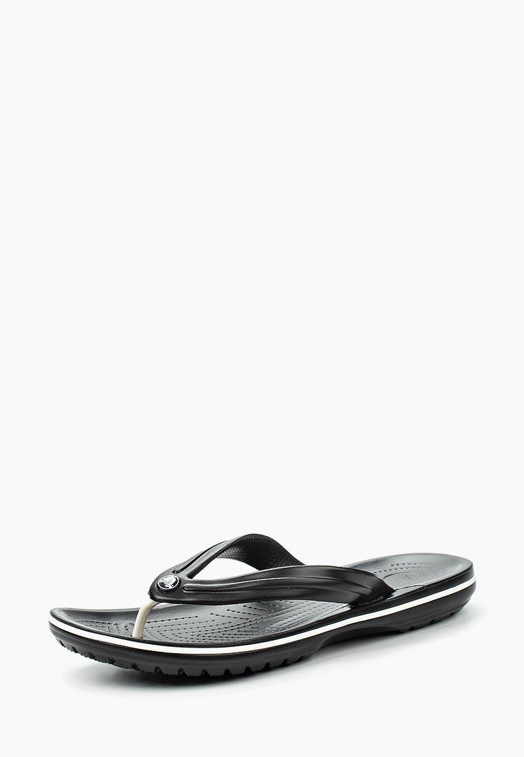 Мужские сланцы Crocs (Крокс) 11033-001