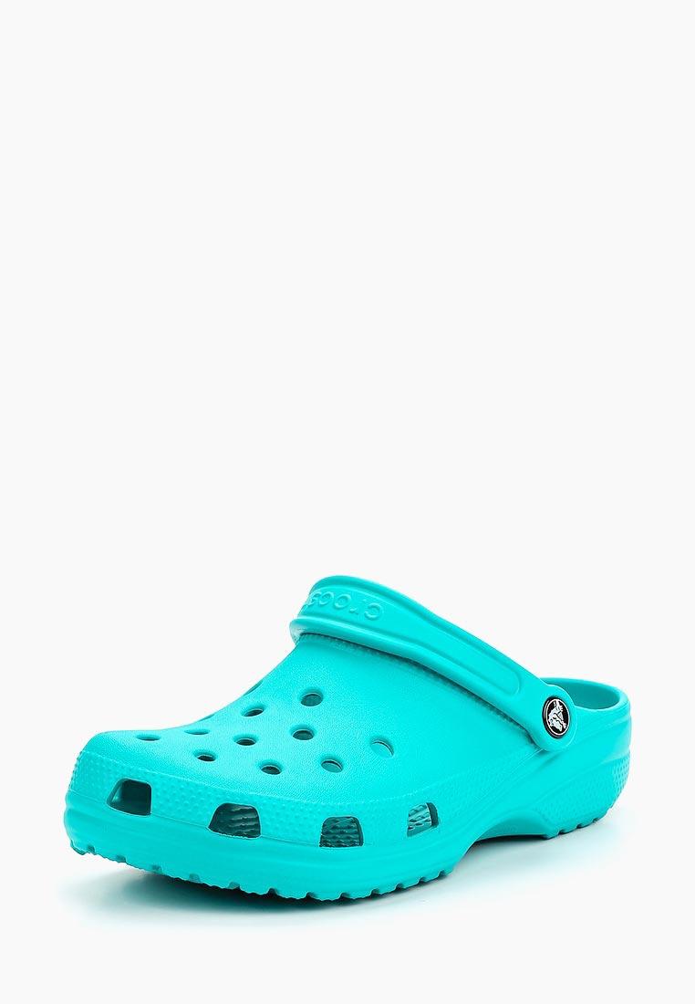 Женская резиновая обувь Crocs (Крокс) 10001-3N9