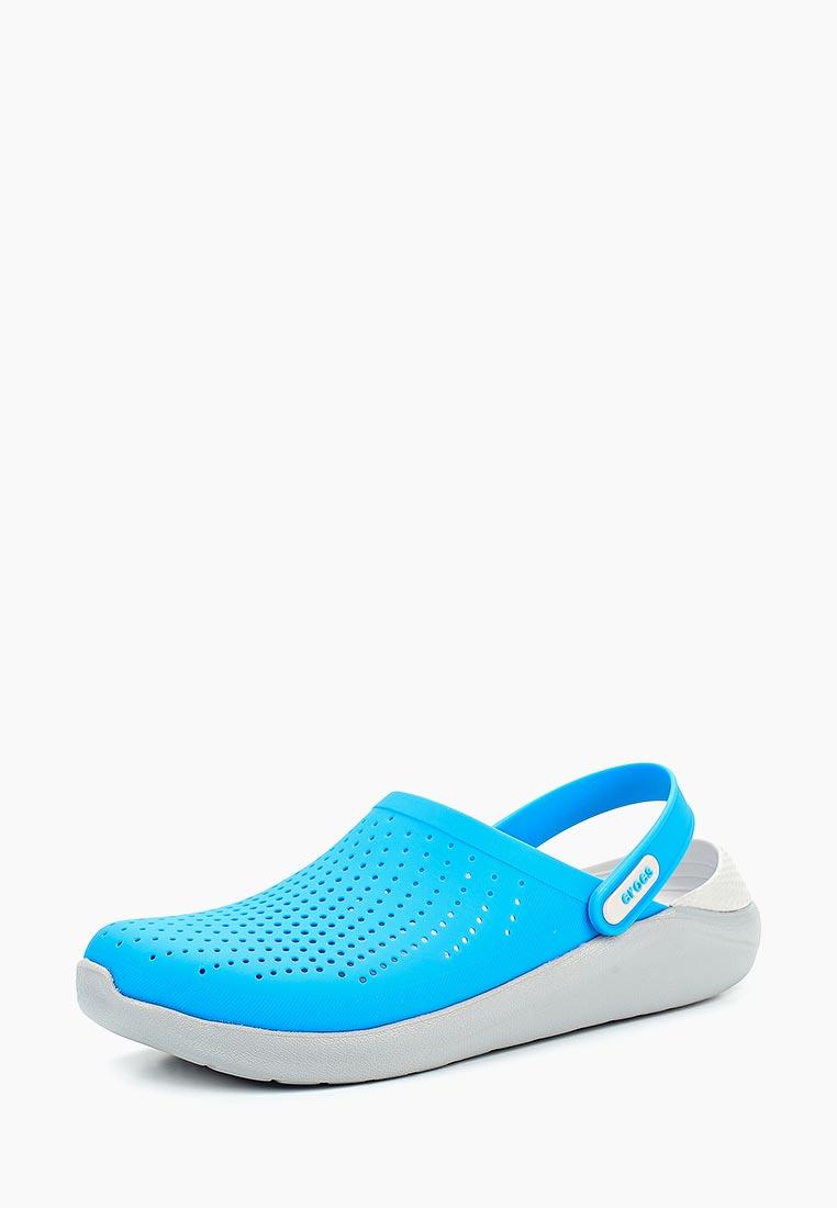 Женская резиновая обувь Crocs (Крокс) 204592-4D7